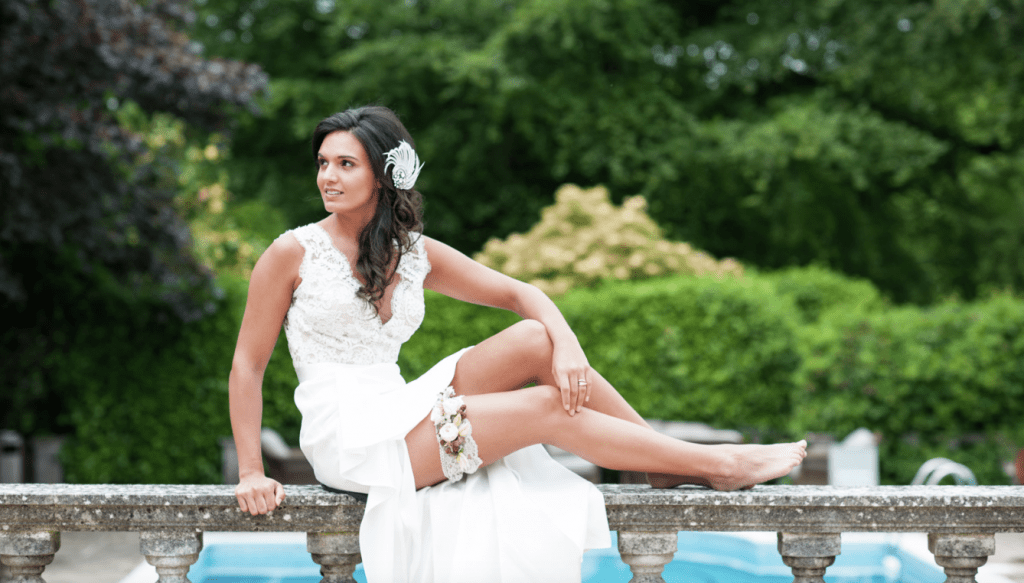 Scarlet by Suzanne Neville - Chewton Glen Wedding Photoshoot